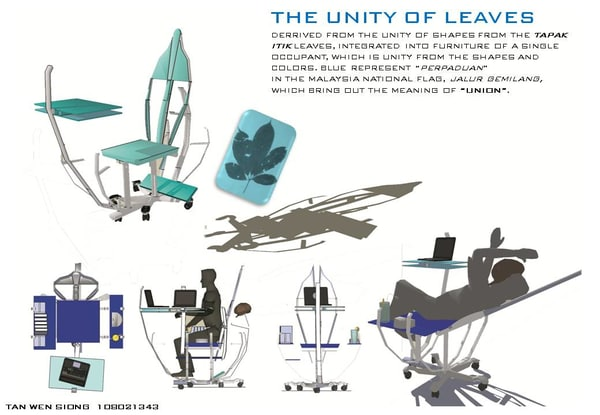 3d chair multifunction