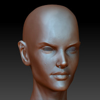 Alex detailed sculpt
