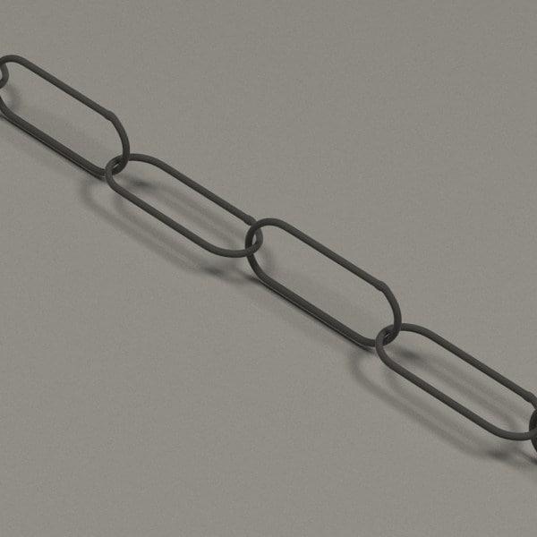 chain 3d obj