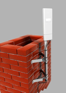 chimney wifi 3d max
