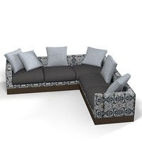 corner moooi's boutique 3d 3ds