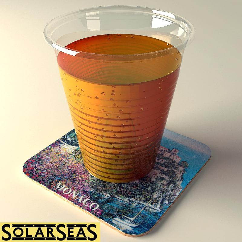 hires cup 3d model