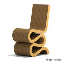 wiggle chair vitra 3d model