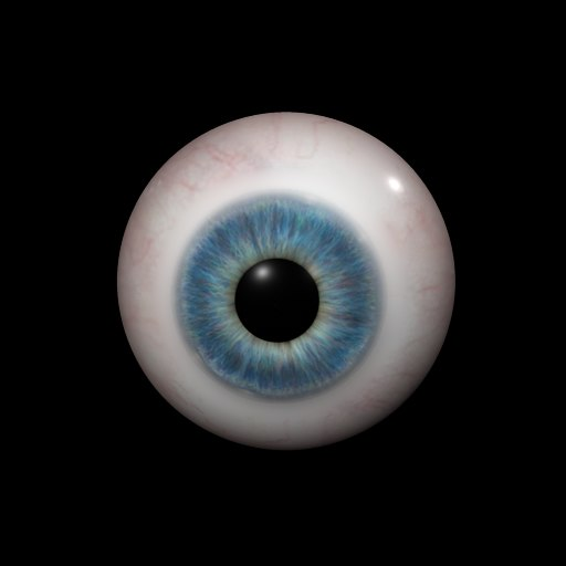 photo real eye iris x