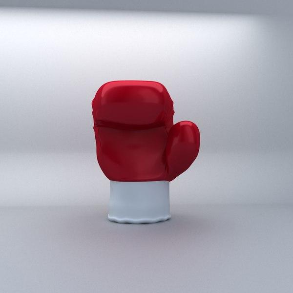 3ds max glove boxer