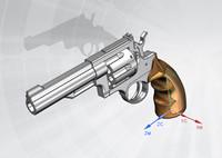 3ds gun pistol
