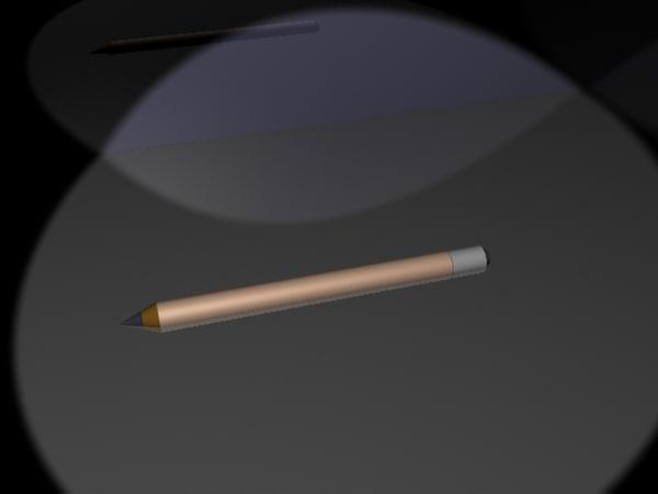 free pencil 3d model