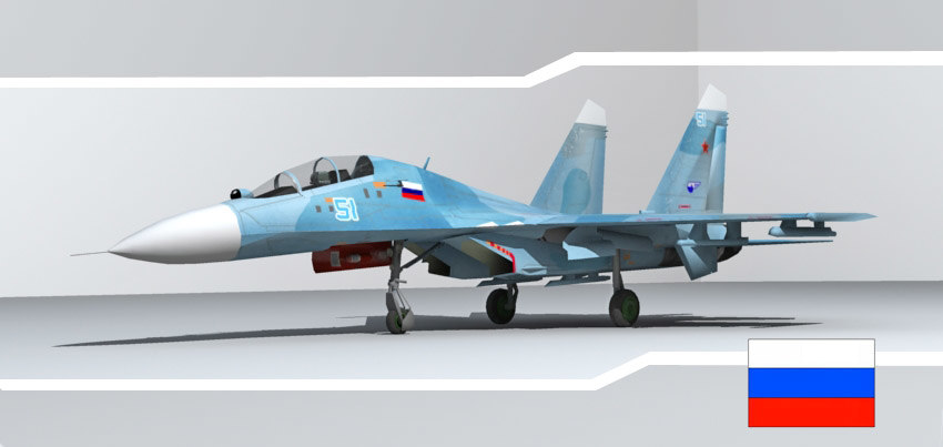 3d sukhoi military aircraft fighter