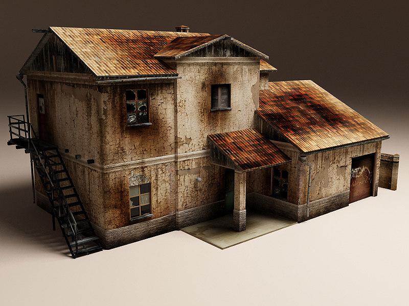 rural house damage max