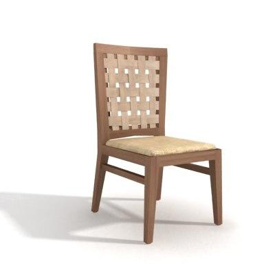 3d santai teak chair dining