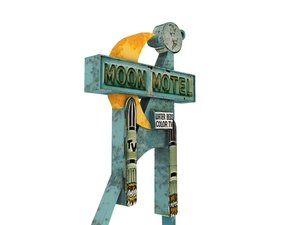 3ds old motel sign