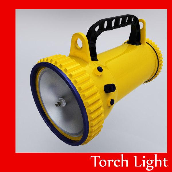 3ds torch light