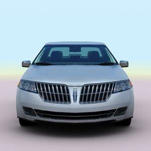 3d 2011 mkz hybrid model