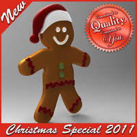 Christmas Ginger Bread (Special price)