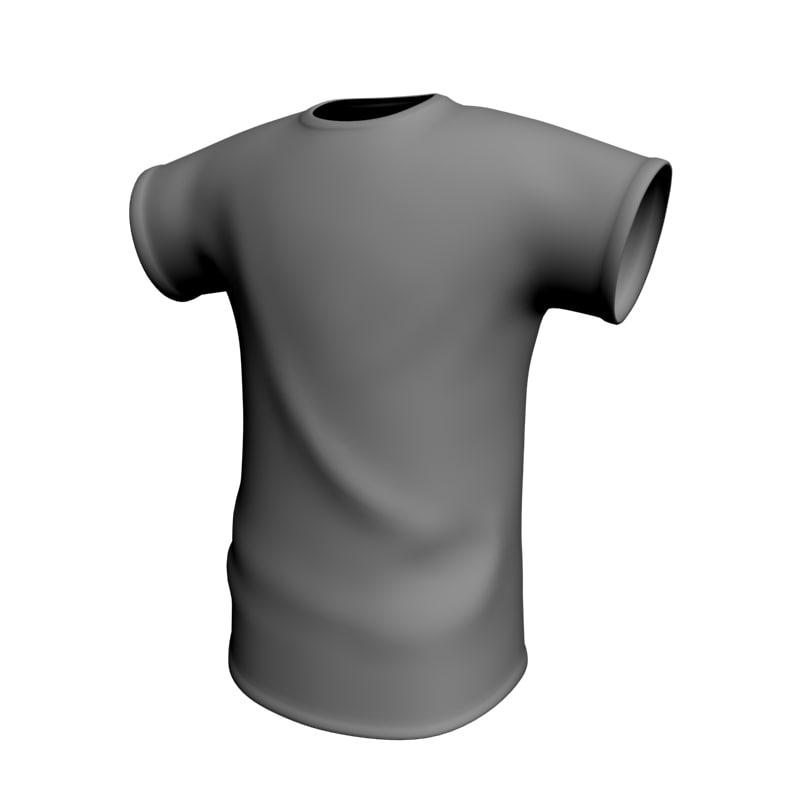 3ds max tshirt soccer