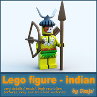 Lego character - indian