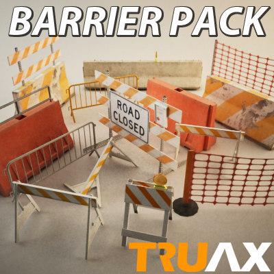 3d truax studio barrier pack