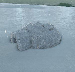 igloo inuits christmas max free