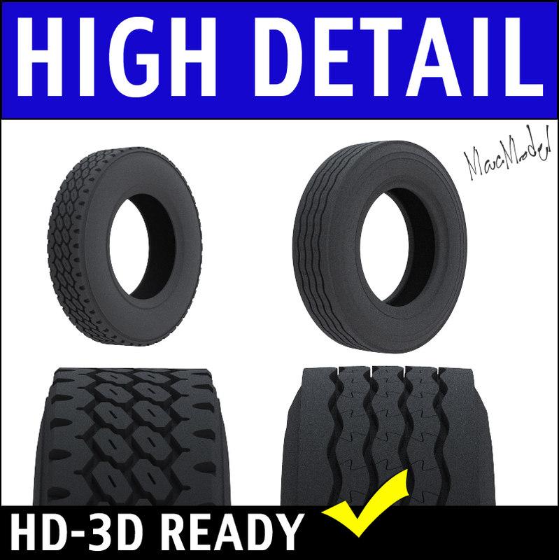 3d bfgoodrich semi truck tire