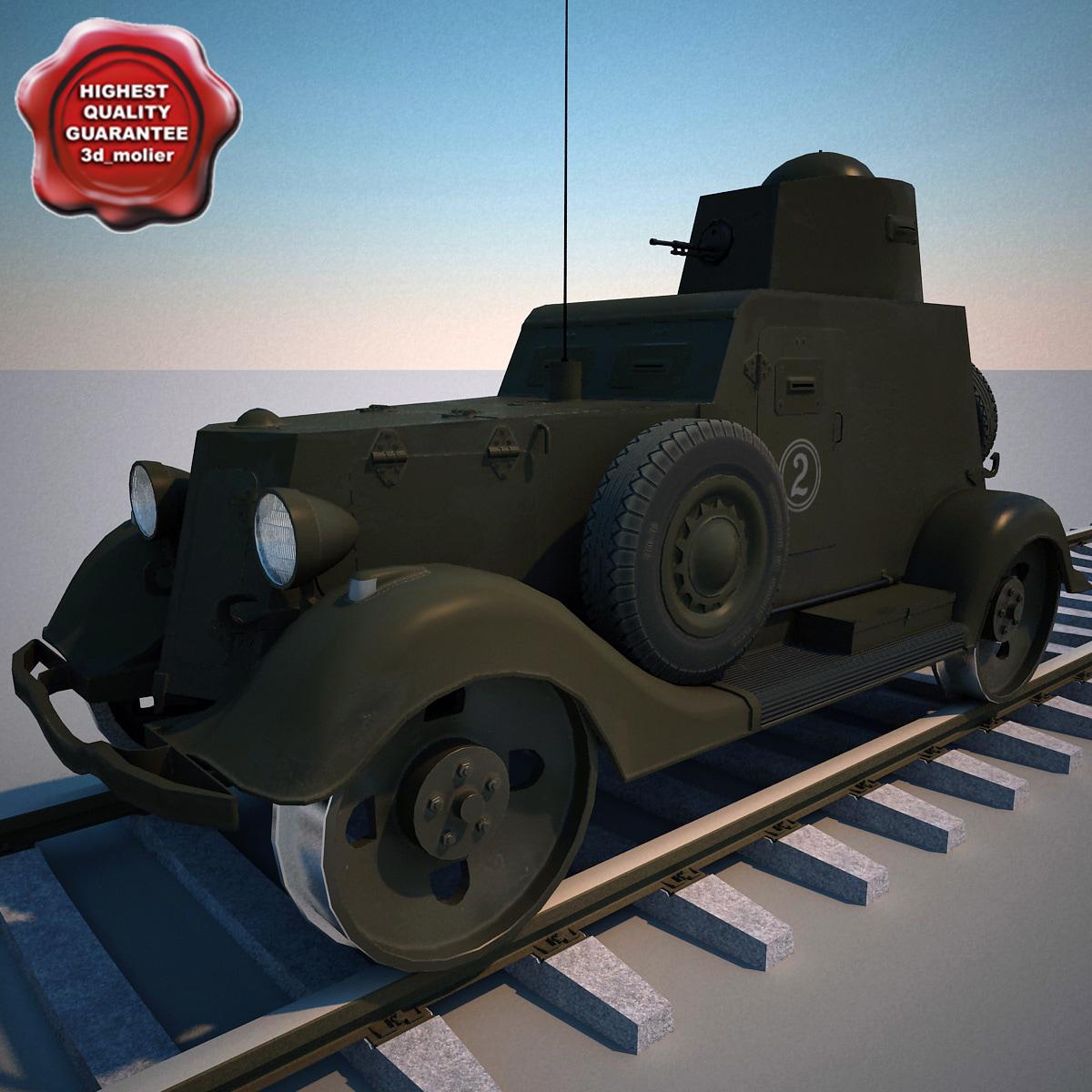 armored car ba-20m zhd max