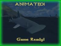 3d ready hammerhead shark lods