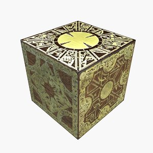 3dsmax puzzle box hellraiser -