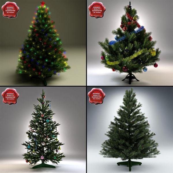 new year trees v3 max