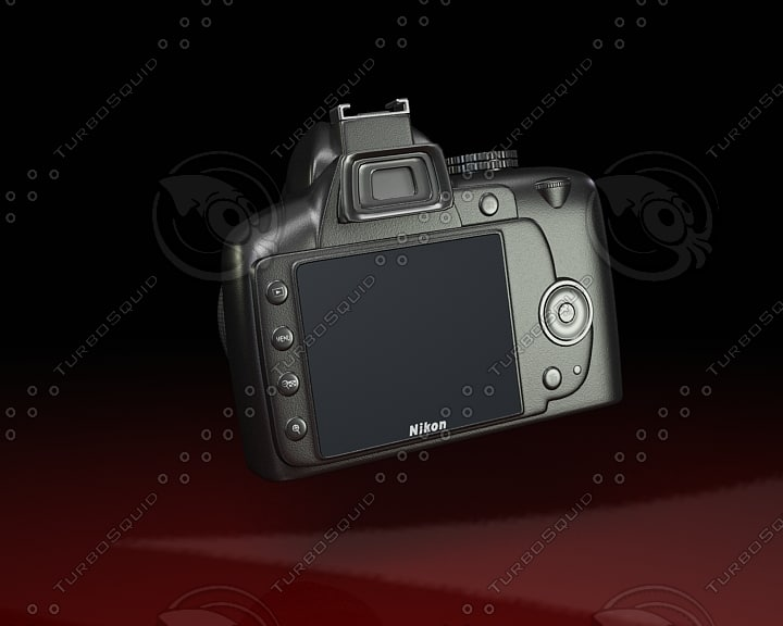 3ds max nikon digital photo camera