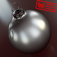 Ornament 17 - High Quality Christmas Ornament - 3ds max 2010 - Mental Ray