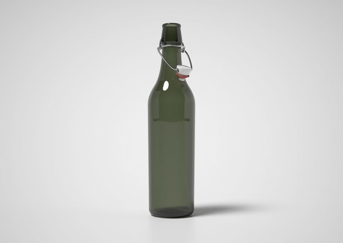 3ds swingtop bottle