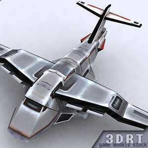 3d model military air forces bombers