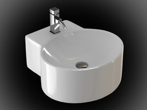 ceramic sink 3d model