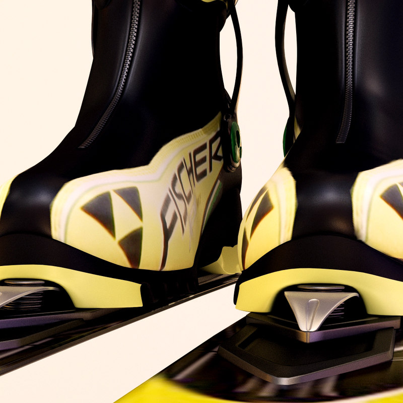 3d cross country ski