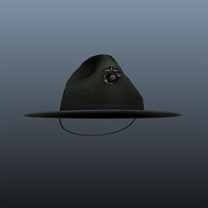 ma drill sergeant hat