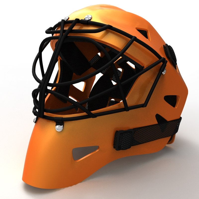 maya hockey helmet