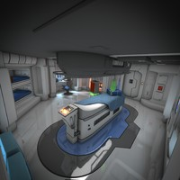 Spaceship Interior HD 3