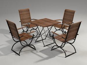 maya garden furniture set 4