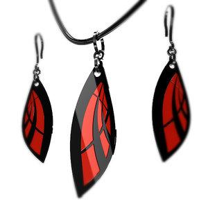 3d model feminin earrings pendant