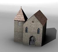 Medieval church 1