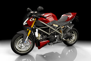 ma ducati streetfighter motorcycle