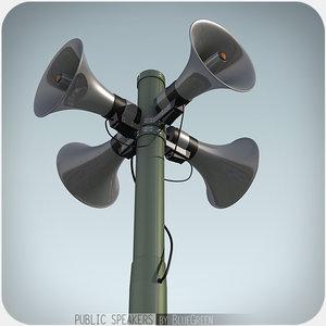 3d 3ds public speakers