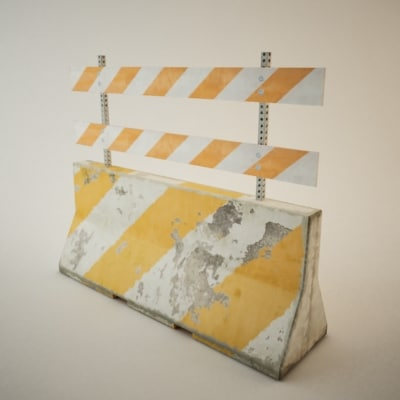 max construction barricade truax