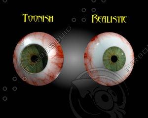 3d eye real toonish