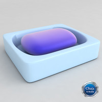 3d model of soap dish