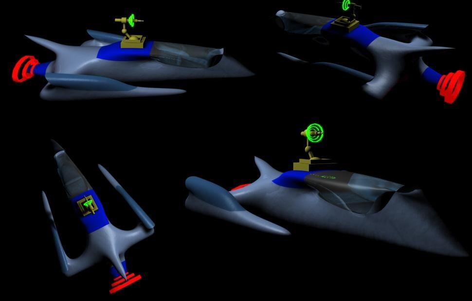 spaceship 3ds