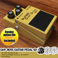G69-BOSS GUITAR PEDAL SD-1