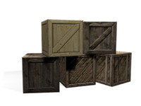 wooden boxes max