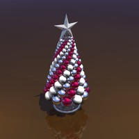 3d christmas tree centerpiece model