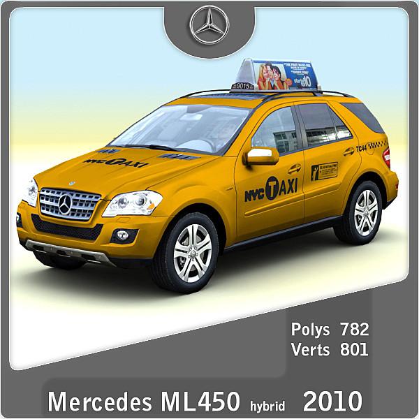 lightwave 2010 mercedes ml450 taxi