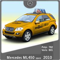 2010 Mercedes ML450 Hybrid Taxi
